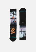 Stance Socks - Sid and billy socks - black