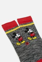 Stance Socks - Stance vintage disney - grey & red
