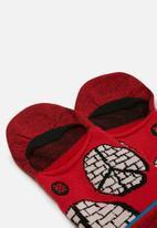Stance Socks - Stance rocksteady - red