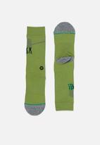 Stance Socks - Stance army men - green