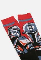 Stance Socks - Stance beskar steel - red