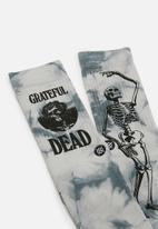 Stance Socks - Good ol grateful dead socks - grey