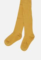 Cotton On - Ribbed solid tight - mustard
