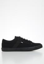 JEEP - Peg sneaker - black
