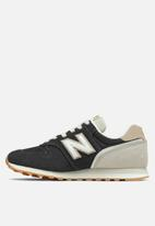 New Balance  - 373v2 - black/white (048)