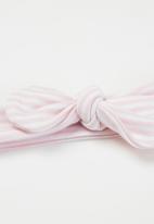Little Lumps - Headband - pink & white