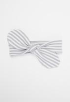 Little Lumps - Headband - grey & white