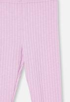 Cotton On - Huggie tights - pale violet