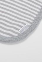Little Lumps - Bib one size - grey & white