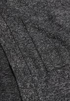 MANGO - Ainaraj cardigan - charcoal