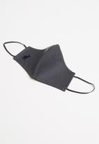 POLO - Women branded mask - charcoal