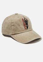 Cotton On - Licensed baseball cap - beige