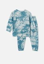 Cotton On - Marcus long sleeve lounge set - teal
