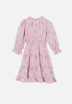 Cotton On - Andie long sleeve dress - pale violet