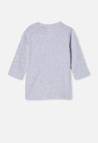Cotton On - Jamie long sleeve tee - light grey