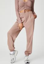 Factorie - Super slouchy trackpant - dirty blush