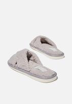 Cotton On - Solitude slipper set - quail