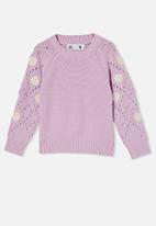 Cotton On - Cecelia knit jumper - pale violet