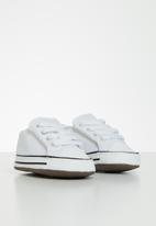 Converse - Chuck Taylor all star cribster - white/ natural ivory/white