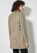 Superbalist - Longer length blazer - brown