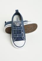 Converse - Chuck Taylor all star 2v canvas ox - athletic navy/white