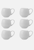 Maxwell & Williams - Basics mini snug mug 120ml - white