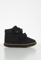 Klin - Boys mini flyer sneaker - black