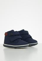 Klin - Boys mini flyer sneaker - navy & red