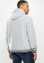 Aca Joe - Aca Joe polar fleece hoodie - grey