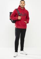 Aca Joe - Aca Joe polar fleece hoodie - red