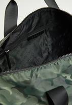 GUESS - Dyson round duffle - olive