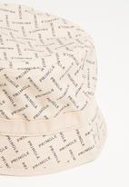 Pringle of Scotland - Pringle daniel bucket hat - stone