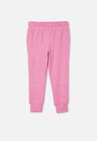 Cotton On - Super soft marlo trackpant - pink gerbera marle