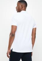 POLO - Justin custom fit short sleeve golfer - white