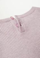 MANGO - Paolab sweater - purple