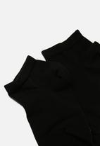 Superdry. - 5 Pack trainer sock - black