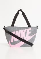 Nike - Nan futura jumbo lunch tote - grey & pink