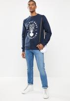 Holmes Bro's - Expedition sweat - navy