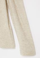 Superbalist Kids - Younger girls cut n sew gauged sleeve - neutral