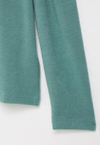 Superbalist Kids - Younger girls cut n sew gauged sleeve - aqua