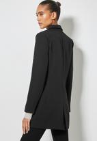 Superbalist - Longline length blazer - black