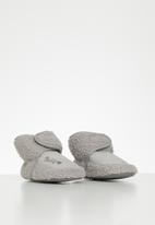 POP CANDY - Baby boys slippers - grey