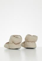 POP CANDY - Baby slippers - beige