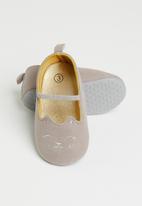 POP CANDY - Baby girls ballet pumps - brown