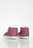 POP CANDY - Baby girls velcro strap soft sole shoes - pink
