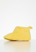 POP CANDY - Baby girls booties - yellow