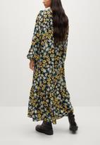 MANGO - Dress cris - black
