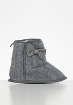 POP CANDY - Baby girls boots - grey