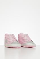 POP CANDY - Baby girls soft sole sneakers - pink