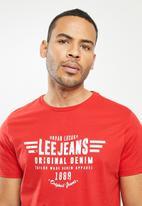 Lee  - Luxury denim - red